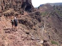 Wanderweg von La Merica entlang Richtung Arure