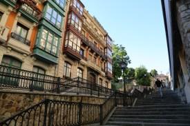 Treppenstufen in Bilbao