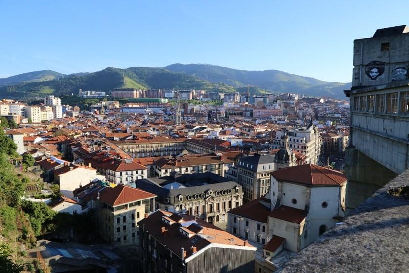 Dächer von Bilbao
