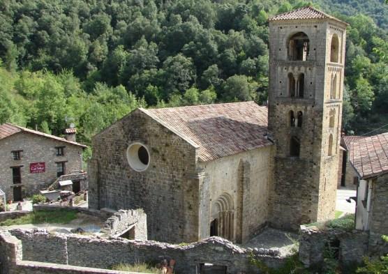 Historische Kirche in Beget, Katalonien