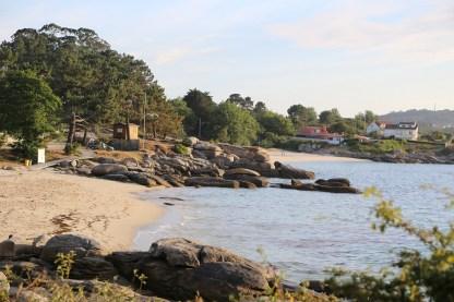 Bucht von O Grove Galicien