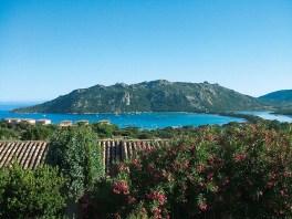 Aussicht vom Hotel Alivi di Santa Giulia auf Korsika