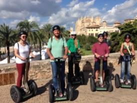Gruppenbild Segway-Tour Palma de Mallorca