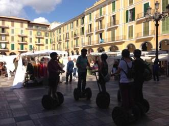 Segway-Tour auf dem Plaça Mayor