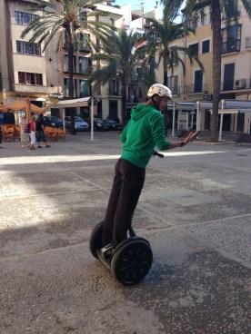 Segway-Fahrer Palma de Mallorca