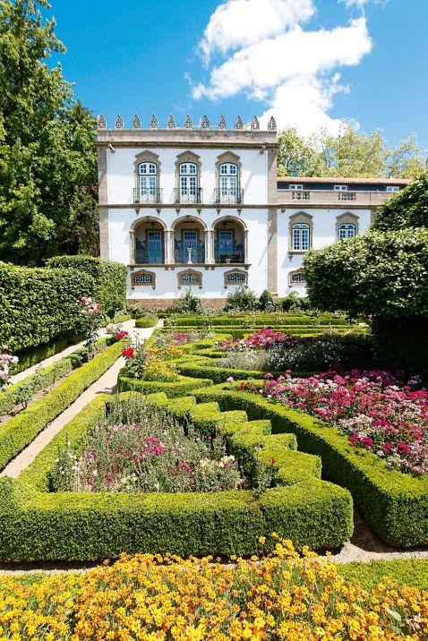 Garten im Parador Casa da Ínsua