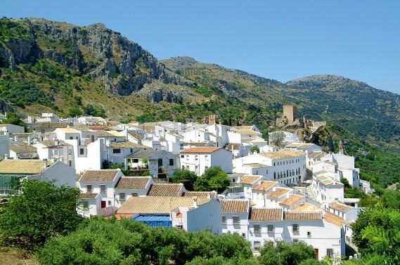 Pueblo Blanco in Andalusiens