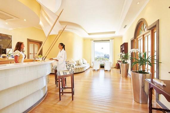 Spa-Bereich des Belmond Reid's Palace im Wellnessurlaub auf Madeira