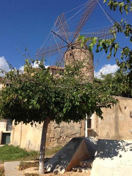 Im Mühlenviertel in Palma