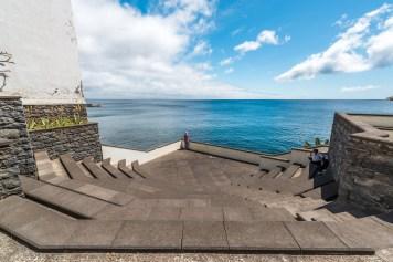 Treppen zum Meer Aussichtspunkt Madeira
