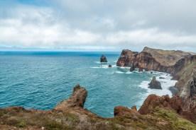 Küste Ponta de Sao Lourenco auf Madeira