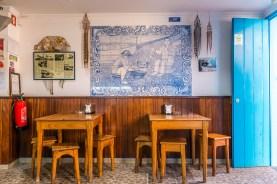 Kleines Restaurant auf Madeira