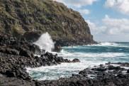 Brandung Atlantik Sao Miguel Azoren