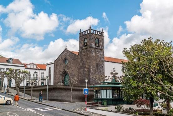 Kirche in Ponta Delgada Sao Miguel Azoren