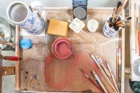 Utensilien Keramikfabrik Azoren