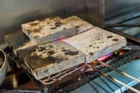 Heiße Steinplatten Restaurant Azoren Sao Miguel