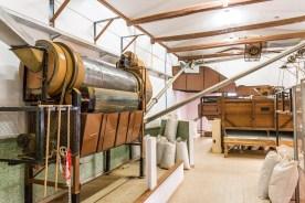 Maschinen in Teefabrik Azoren