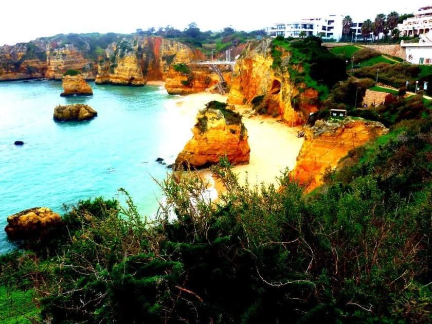 Praia dona Ana bei Lagos