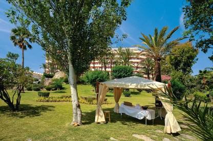 Wellness-Liege Garten Hotel Valparaiso Palace