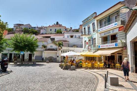Straßencafe Monchique