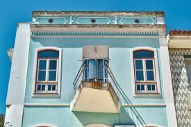 Farbiges Haus Monchique