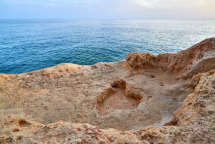 Strand Felsen Klippe Alarve
