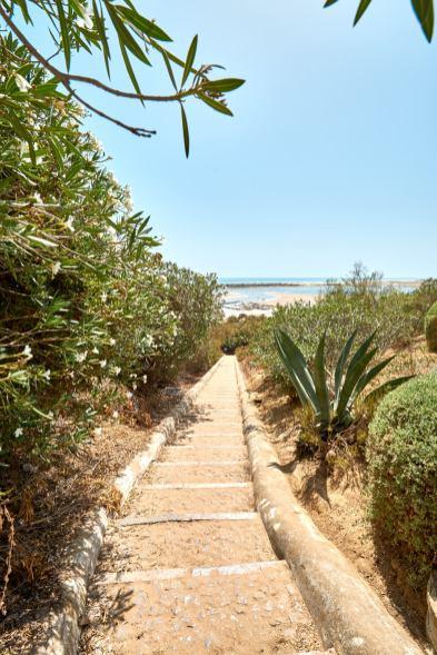 Weg zum Strand Ostalgarve