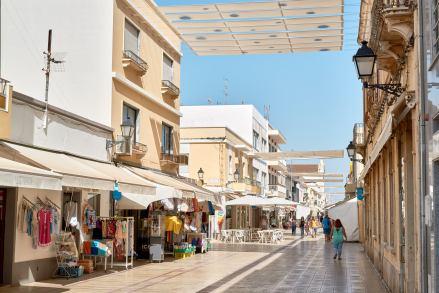 Straße Schatten Algarve