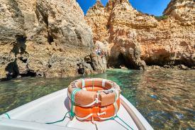 Steilküste Bootstour Portugal Algarve