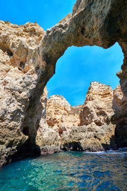 Felsen ansehen Portugal Steilküste