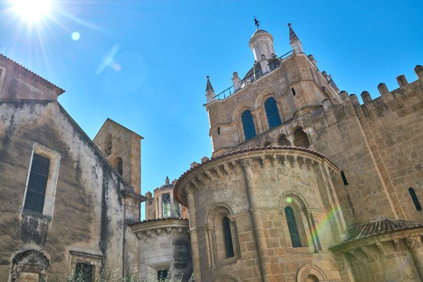 Alte Gebäude in Coimbra