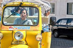 Tuktukfahrt in Lissabon