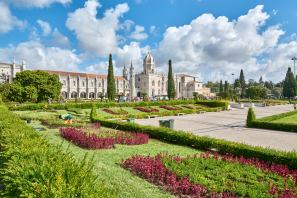 Parkanlage Hieronymuskloster Belém