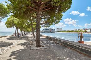 Promenade Expo Gelände Tejo Ufer