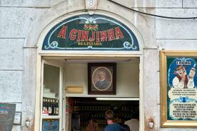 Ginjinha Laden Schnaps Likör Lissabon