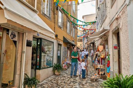 Einkaufen Gasse Sintra