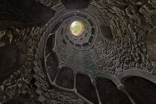 Treppe Quinta da Regaleira Sintra