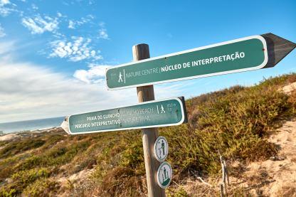 Wegweiser Praia do Guincho