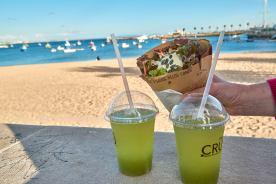 Streetfood am Strand