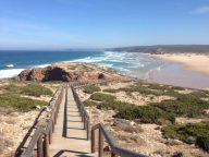 Ausblick Praia Bordeira Etappe der Rota Vicentina