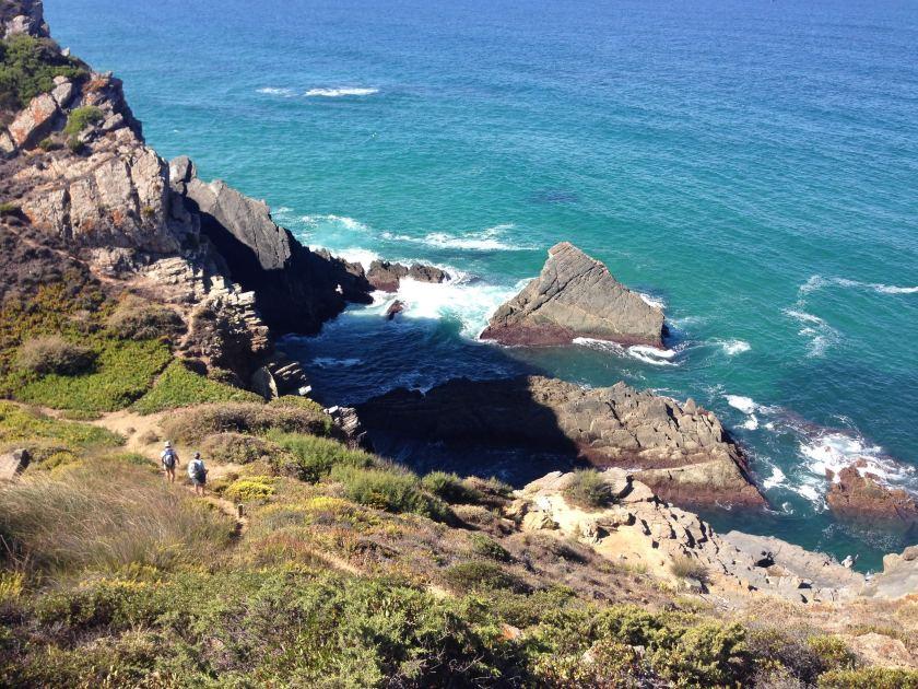 Beim Praia dos Machados an der Rota Vicentina
