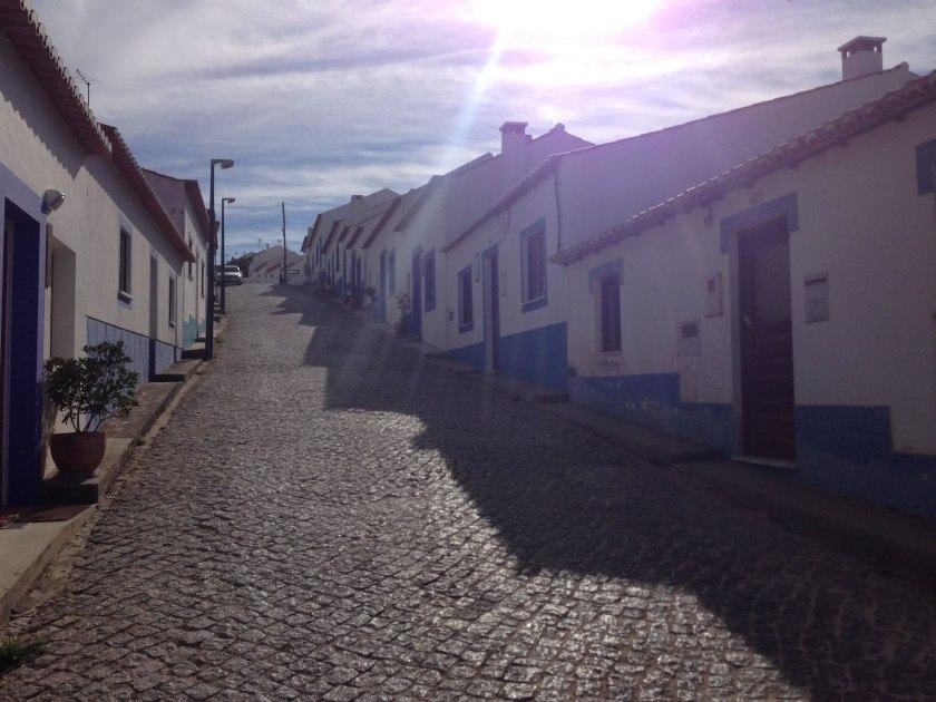 Häuser in Odeceixe an der Rota Vicentina