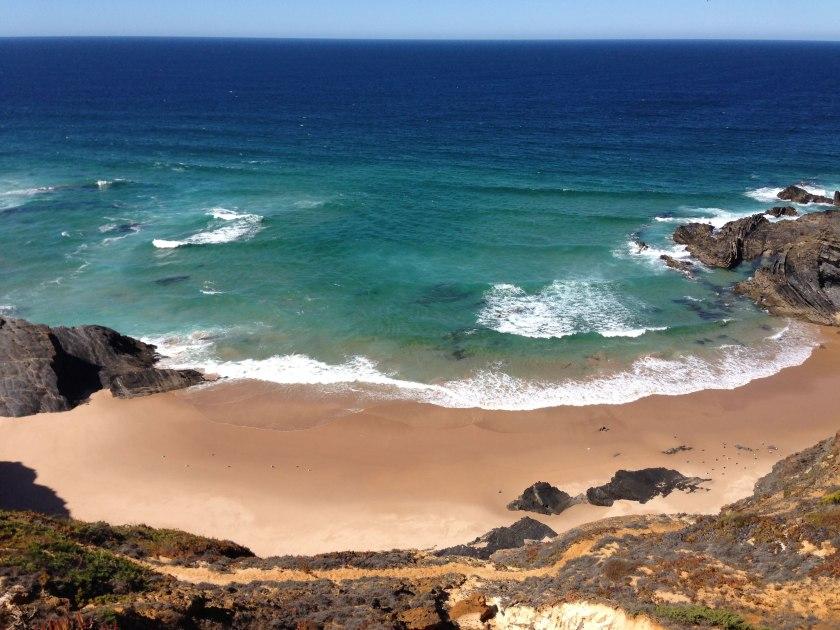 Praia do Cao an der Rota Vicentina