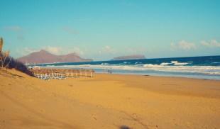 Strand Brandung Porto Santo Urlaub