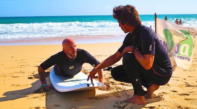 Surfen lernen in Portugal Surfkurs