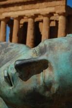 Statue auf Sizilien