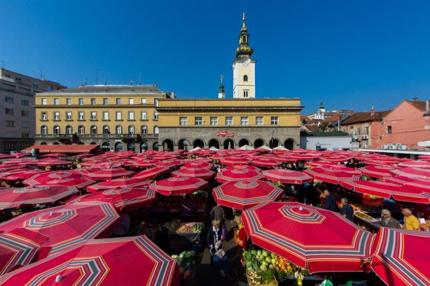 Dolac Markt Zagreb