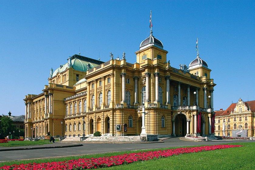 Nationaltheater von Zagreb