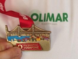 Lissabon Halbmarathon Medaille