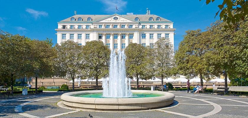 Esplanade Hotel in Zagreb